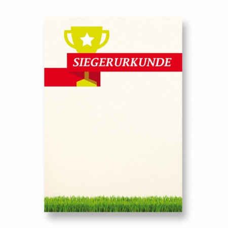 Siegerurkunde Neutral