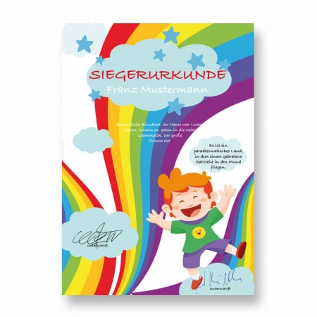 Kinderurkunde Neutral