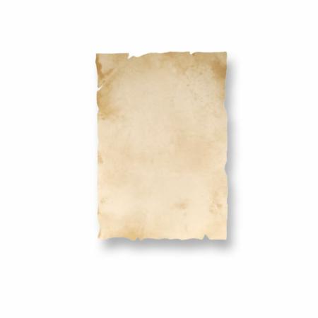 Antik-Papier Urkundenpapier