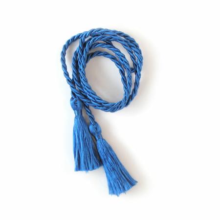 Blaue Kordel